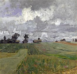Stormy Day, 1897 by Isaac Levitan | Giclée Canvas Print