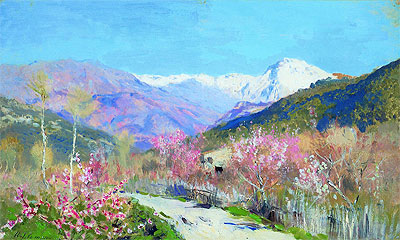 Spring in Italy, 1890 | Isaac Levitan | Painting Reproduction