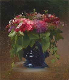 Bouquet of Flowers. Phlox, 1884 by Ivan Kramskoy | Giclée Canvas Print