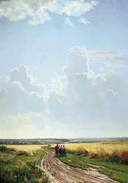 Ivan Shishkin | Noon in the Neighbourhood of Moscow | Giclée Canvas Print