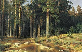 Ivan Shishkin | Mast-Tree Grove | Giclée Canvas Print