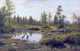 Ivan Shishkin | The Polesye Moorlands | Giclée Canvas Print
