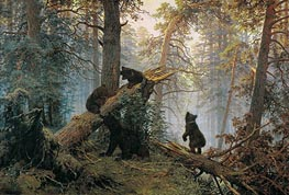 Ivan Shishkin | Morning in a Pine Forest | Giclée Canvas Print