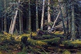 Ivan Shishkin   Trees Felled by the Wind (Vologda Woods)   Giclée Canvas Print