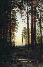 Ivan Shishkin   Dusk   Giclée Canvas Print