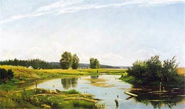 Ivan Shishkin   Landscape with a Lake   Giclée Canvas Print