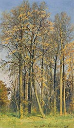 Ivan Shishkin | Rowan Trees in Autumn | Giclée Canvas Print
