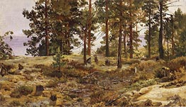 Ivan Shishkin | On a Sandy Soil | Giclée Canvas Print