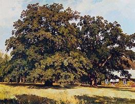 Ivan Shishkin | Mordvinovskie Oaks, 1891 | Giclée Canvas Print