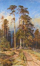 Ivan Shishkin | Pine Forest, 1897 | Giclée Canvas Print