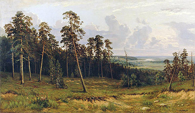 Ivan Shishkin | The Edge of the Forest, 1878 | Giclée Canvas Print