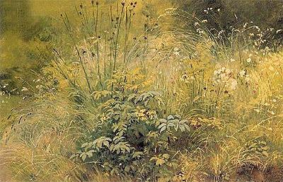 Herbs, 1892 | Ivan Shishkin | Painting Reproduction