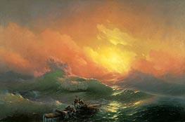 Aivazovsky | The Ninth Wave, 1850 by | Giclée Canvas Print