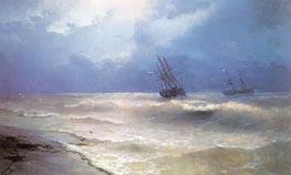 Aivazovsky | White-Caps on the Coast of the Crimea | Giclée Canvas Print