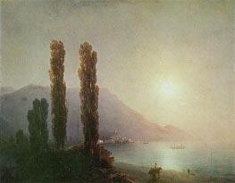 Aivazovsky | Sunrise in Yalta | Giclée Canvas Print