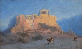 Aivazovsky | View of the Acropolis | Giclée Canvas Print