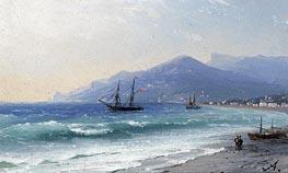 Aivazovsky | Crimean Coast | Giclée Canvas Print