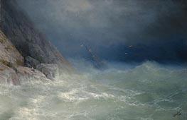 Aivazovsky | The Survivor | Giclée Canvas Print