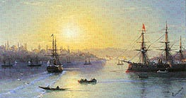 Aivazovsky | Constantinople, undated | Giclée Canvas Print