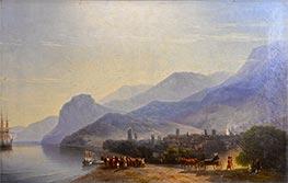 Aivazovsky | Alushta, 1878 | Giclée Canvas Print
