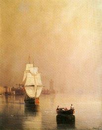 Aivazovsky | Rhodes, 1874 | Giclée Canvas Print