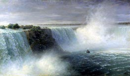 Aivazovsky | View of Niagara Falls, 1892 | Giclée Canvas Print