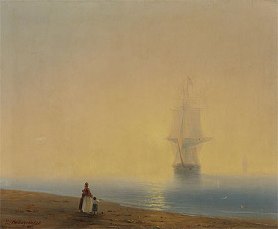 The Return, undated | Aivazovsky | Painting Reproduction