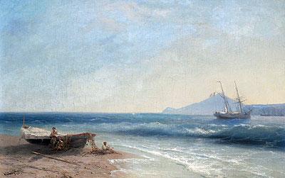 Marine Scene, 1893 | Aivazovsky | Painting Reproduction