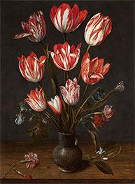 Tulips in a Vase, c.1610 by Jacob van Hulsdonck   Giclée Canvas Print