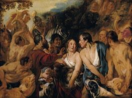 Jacob Jordaens | Meleager and Atalante, 1618 | Giclée Canvas Print