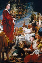 Jacob Jordaens | Offering to Ceres, c.1619 | Giclée Canvas Print