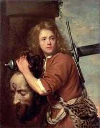 Jacob van Oost   David Bearing the Head of Goliath, 1643   Giclée Canvas Print