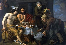 Jacob van Oost   Mercury and Jupiter in the House of Philemon and Baucis, undated   Giclée Canvas Print