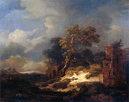 Ruisdael | Landscape with Ruins | Giclée Canvas Print