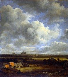 Ruisdael | View of Haarlem | Giclée Canvas Print