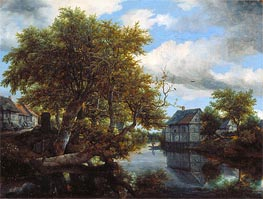 Ruisdael | The Great Pool | Giclée Canvas Print