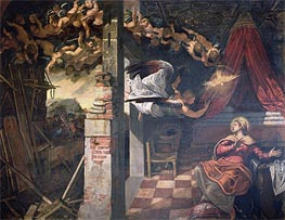 Tintoretto | The Annunciation | Giclée Canvas Print