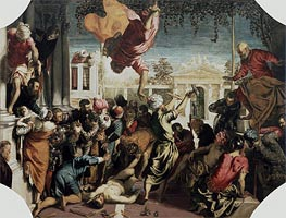 Tintoretto | The Miracle of the Slave, c.1547/48 | Giclée Canvas Print