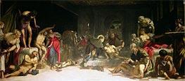 Tintoretto | St. Roch Healing the Plague, 1549 | Giclée Canvas Print