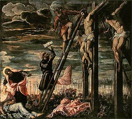 Tintoretto | The Crucifixion of Christ, 1568 | Giclée Canvas Print