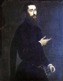 Tintoretto | Portrait of a Genoese Nobleman, c.1550 | Giclée Canvas Print