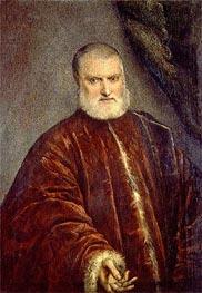 Tintoretto | Portrait of Procurator Antonio Cappello, c.1551 | Giclée Canvas Print