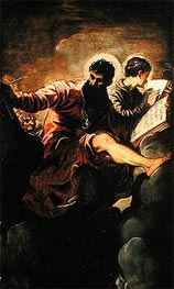Tintoretto | Evangelists Mark and John | Giclée Canvas Print