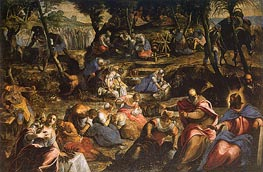 Tintoretto | The Israelites in the Desert, c.1593 | Giclée Canvas Print