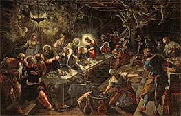Tintoretto | The Last Supper, c.1593 | Giclée Canvas Print