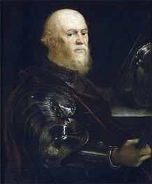 Tintoretto | A Venetian Admiral, c.1570/75 | Giclée Canvas Print