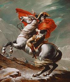 Jacques-Louis David | Napoleon Crossing the Saint Bernhard Pass | Giclée Canvas Print
