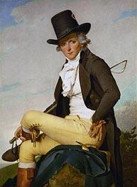 Jacques-Louis David | Portrait of Pierre Seriziat | Giclée Canvas Print