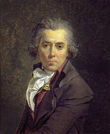 Jacques-Louis David   Self Portrait, 1791   Giclée Canvas Print