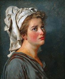 Jacques-Louis David   Young Woman with a Turban, c.1780   Giclée Canvas Print